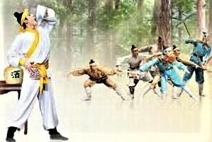 Wu Song mengalahkan Harimau